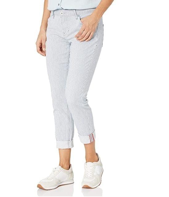 Jag Jeans Women's Petite Carter Girlfriend Jean 1