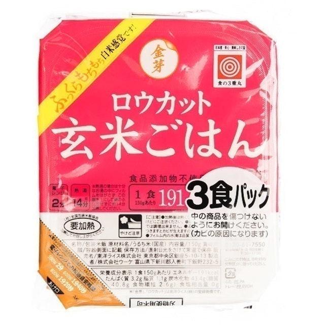 Toyo Rice Kinmemai Microwaveable Milled Hull Brown Rice 1