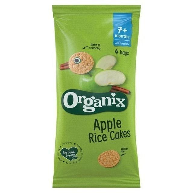 Organix Apple Rice Cakes 1