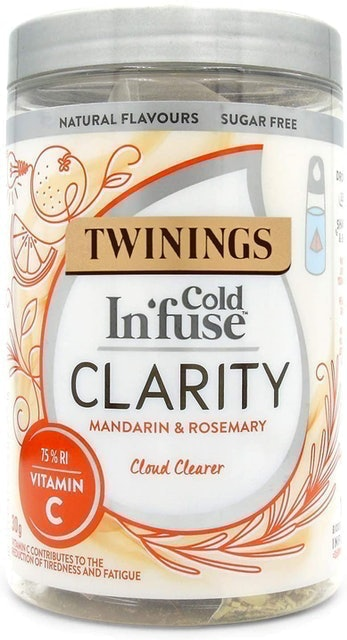 Twinings Cold Infusion Clarity Teabags  1