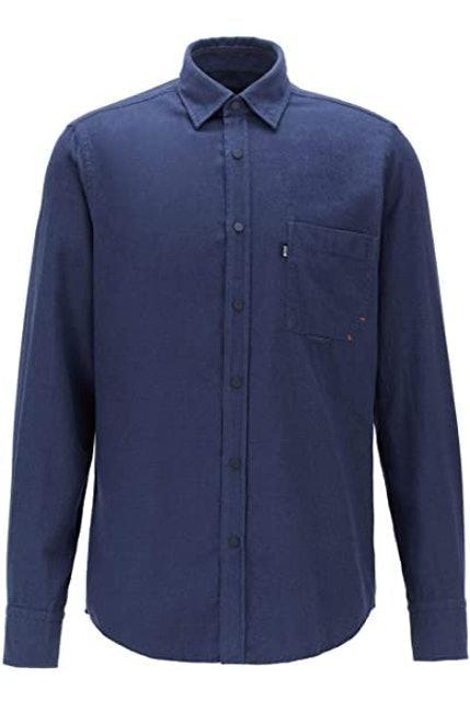 Flannel Shirts BOSS Mens Riou Regular Fit 1