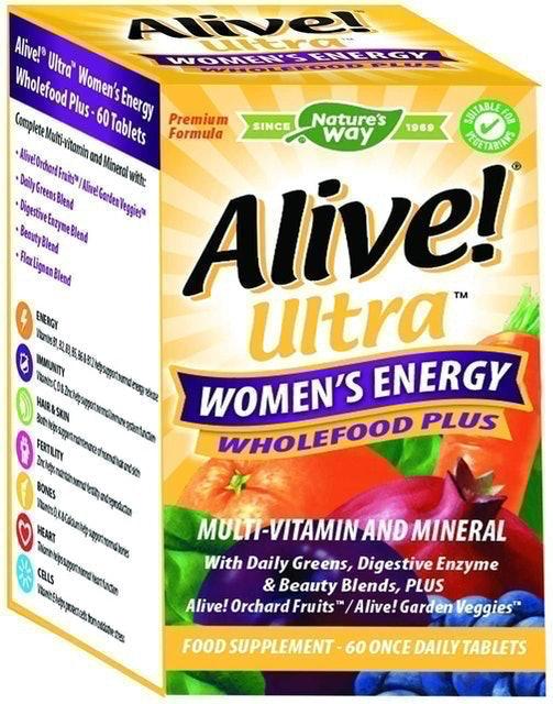 Alive! Ultra Women's Energy Wholefood Plus 1