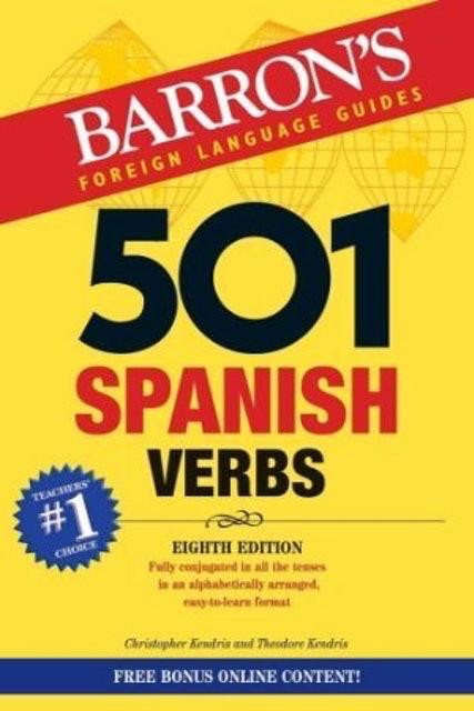 Barron's  501 Spanish Verbs 1