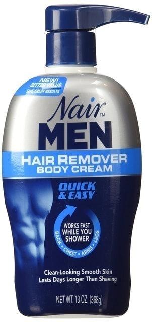 Nair for Men  Hair Remover Body Cream 1