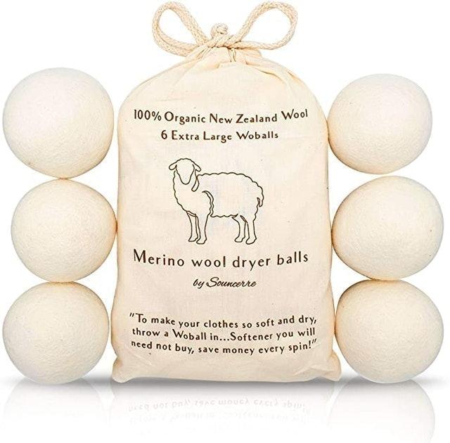 Sounserre Merino Wool Dryer Balls 1