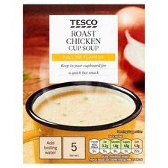 Tesco Roast Chicken Soup in a Mug 1