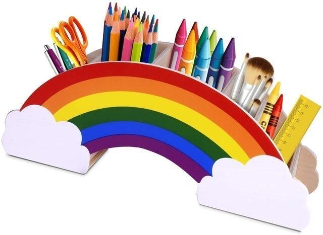 Gamenote Rainbow Desk Organiser 1