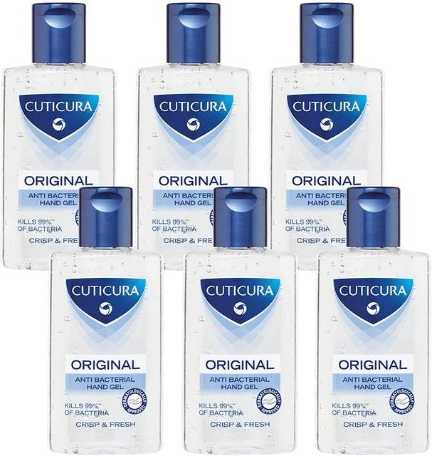 Cuticura Original Anti-Bacterial Hand Gel 1