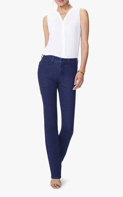 NYDJ Marilyn Straight Leg High Waist Jeans 1