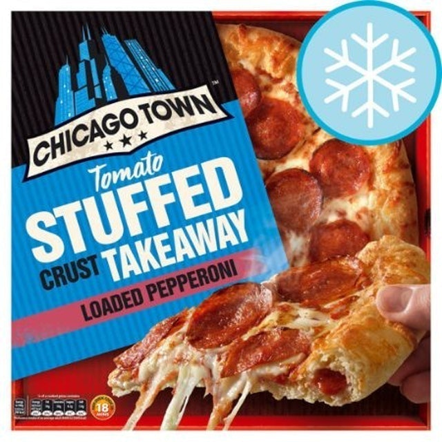 Chicago Town Tomato Stuffed Crust Takeaway Loaded Pepperoni 1