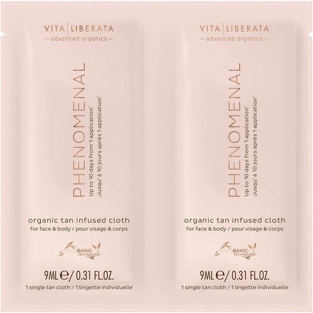 Vita Liberata  Phenomenal Organic Tan Infused Cloth 1