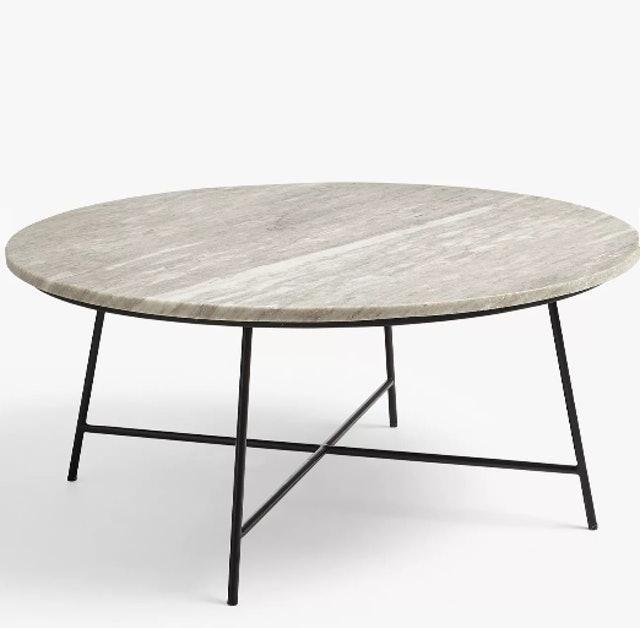 John Lewis & Partners Shadow Marble Coffee Table 1