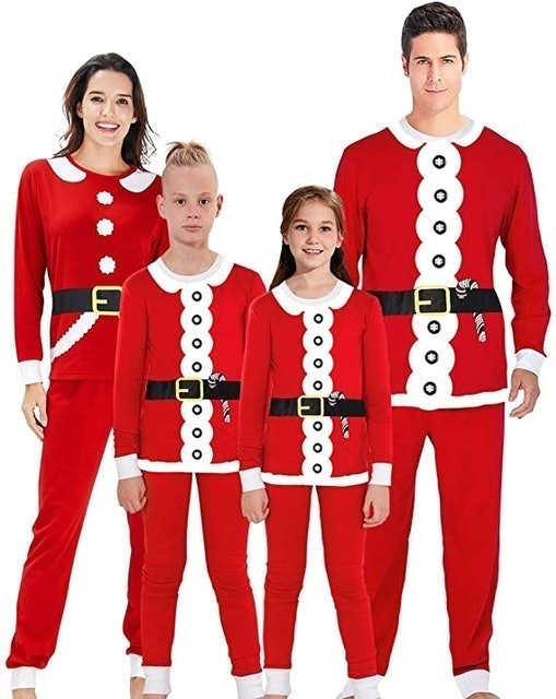 AIDEAONE Family Matching Christmas Pajamas Set 1
