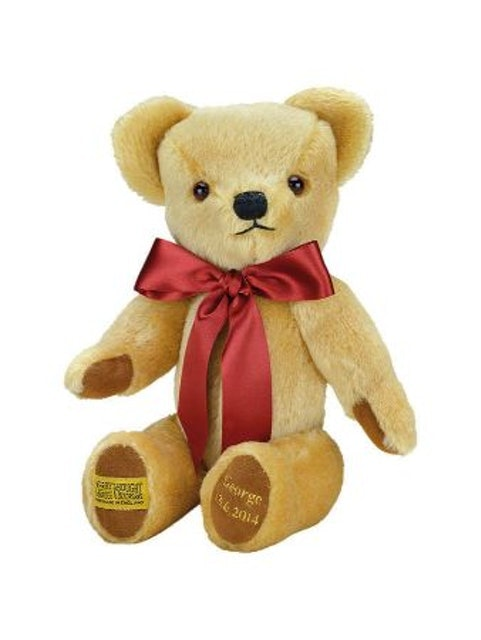 Merrythought  Personalised London Soft Teddy Bear 1