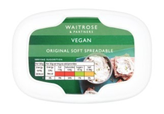 Waitrose Vegan Original Soft Spreadable 1