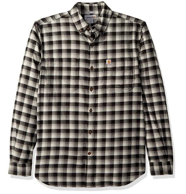 Flannel Shirts Carharrt Men's Rugged Flex Hamilton Flannel Shirt 1