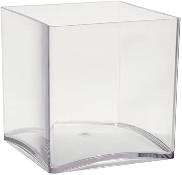 Smith Oasis Clear Acrylic Cube Vase 1