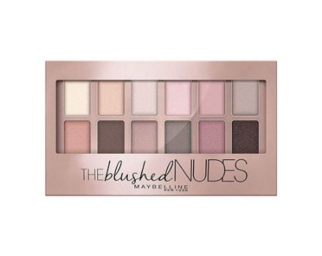 Maybelline  The Blushed Nudes Eyeshadow Palette 1