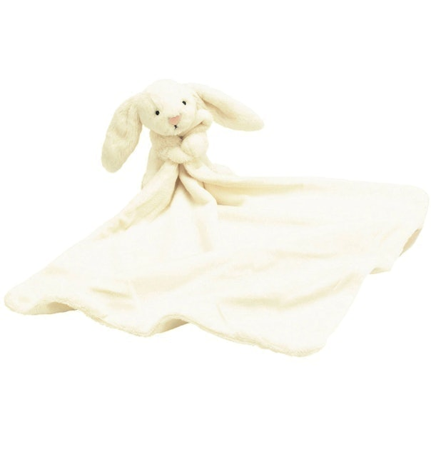 Jellycat Bashful Bunny Baby Soother Soft Toy 1
