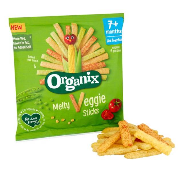 Organix Melty Veggie Sticks 1