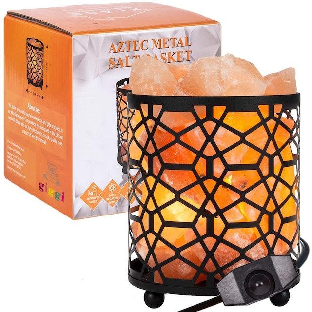 GIGGI Metal Himalayan Salt Lamp Basket 1