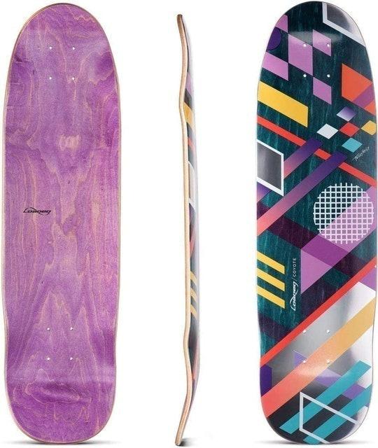 Loaded Boards Coyote Cruiser Skateboard Deck 1