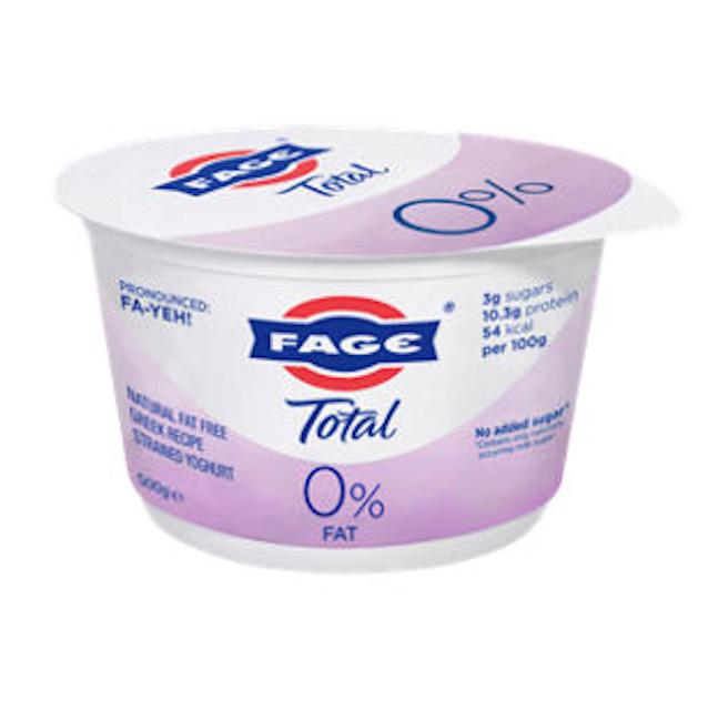 Fage Total 0% Fat Free Greek Natural Yogurt 1