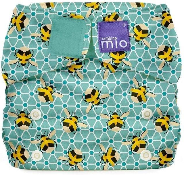 Bambino Mio Miosolo All-In-One Reusable Nappy Bumble 1