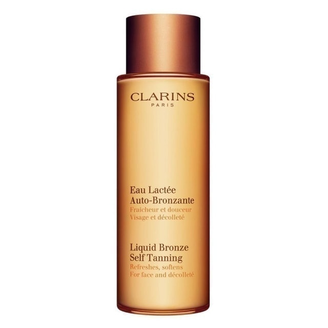 Clarins Liquid Bronze Self Tanning for Face and Décolleté 1