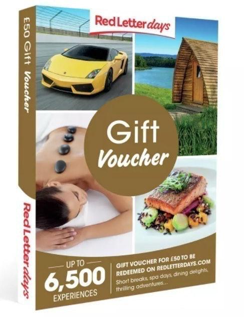 Red Letter Days £50 Gift Voucher 1