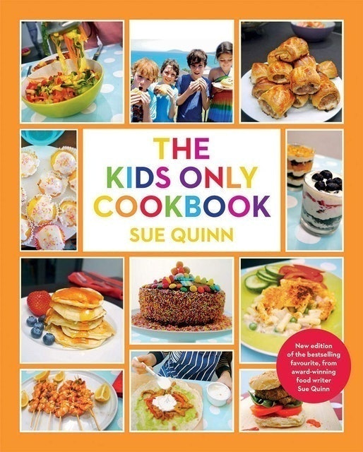 Sue Quinn The Kids Only Cookbook 1
