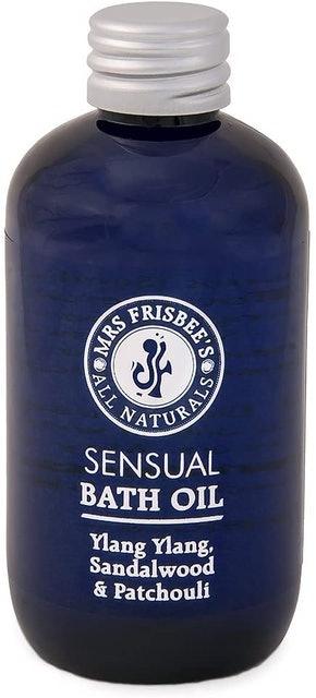 Mrs Frisbee's All Naturals Sensual Bath Oil 1