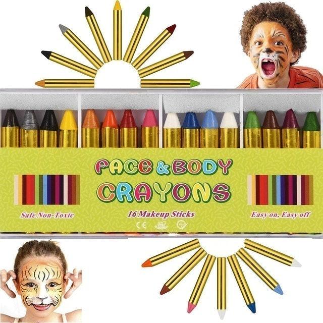 ENJSD Face Paint Crayon Kit 1