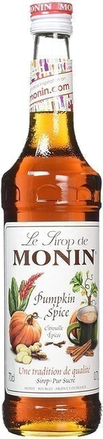 Monin Pumpkin Spice Syrup 1