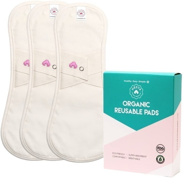 Hesta Organic Cotton Regular Cloth Pads 1