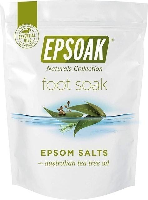 Epsoak Naturals Collection Australian Tea Tree and Eucalyptus Epsom Salt Foot Soak 1