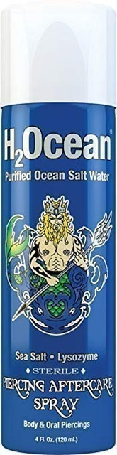 H2Ocean Body Piercing Aftercare Spray 1
