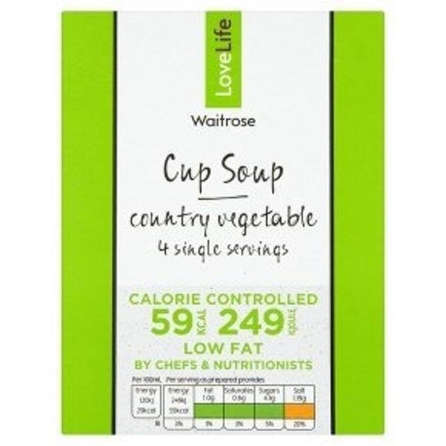 Waitrose Love Life 59 Calories Cup Soup  1