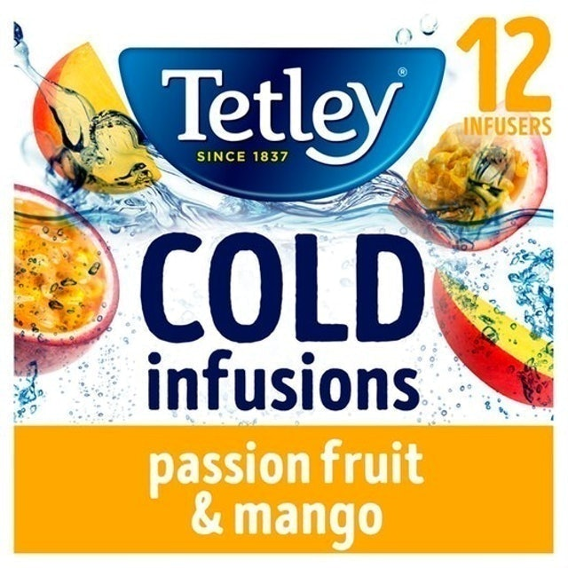 Tetley Cold Infusion Passionfruit & Mango Teabags 1