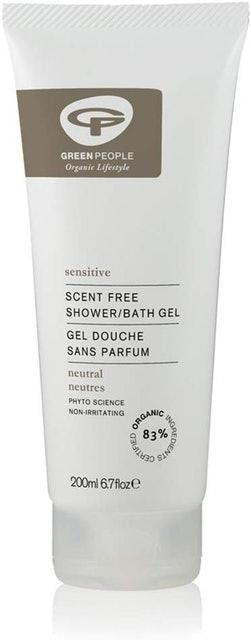 Green People Scent-Free Shower/Bath Gel 1