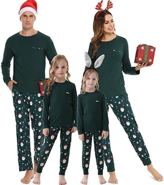 Vlazom Christmas Family Pyjamas Set 1