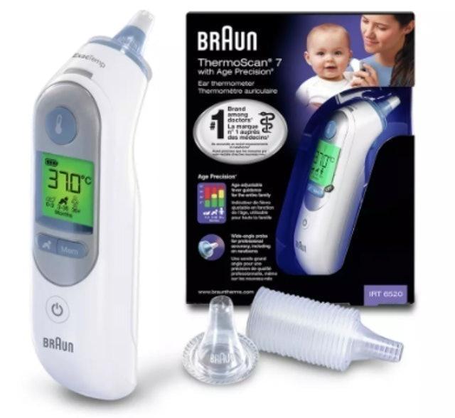 Braun ThermoScan 7 1