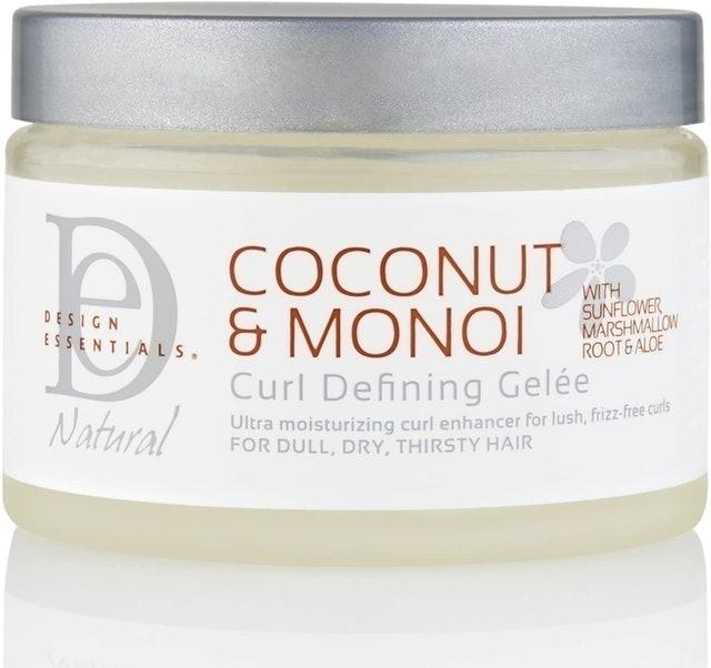 Design Essentials Coconut & Monoi Curl Defining Gelee 1