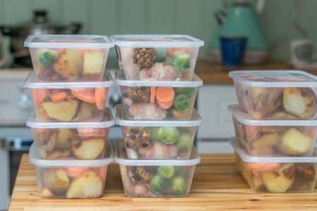 Making At-Home Meals for the Week or Storing Ingredients? Try Tidy Stackers with Airtight Lids