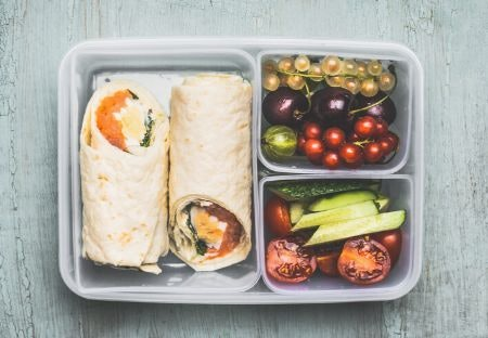 Removable Compartments Allow You to Change up Your Lunch Each Day