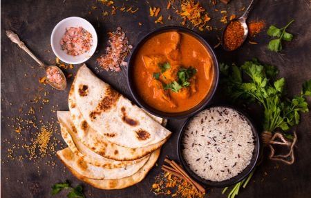 South Asian Cuisine Is Fragrant as Well as Spicy