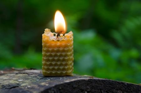 Beeswax Candles Are Honey-Scented and Produce Very Little Smoke