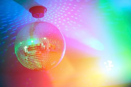 A Traditional Glitter Ball Has a Stunning Retro Effect, but You'll Need a Separate Light Source