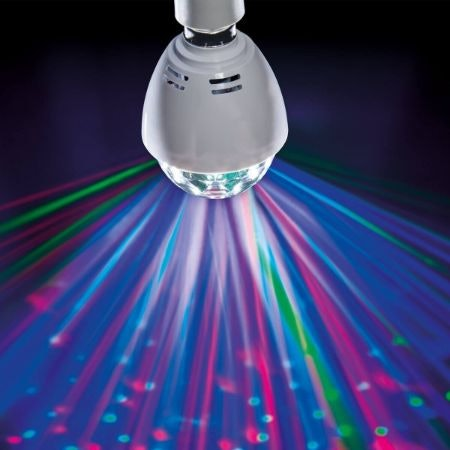 Party Light Bulbs Are Small, Economical and Effectively Set the Party Mood