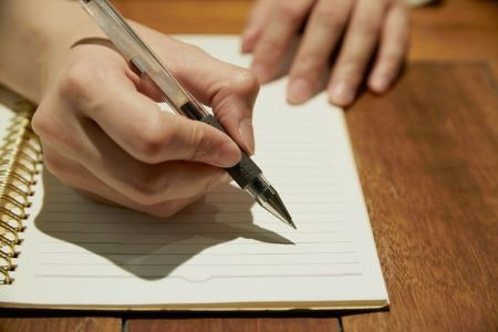 Choose a Pen with a Grip for Comfort When Writing